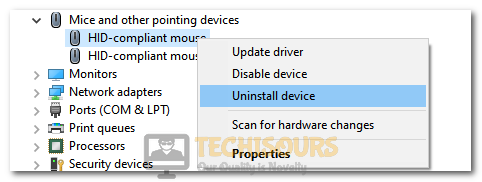 Uninstalling the Mouse Driver to fix Logitech Double Clicking Issue