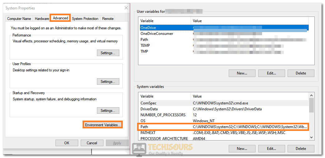 """Selecting the """"Path"""" option to fix PIP is not Recognized as an Internal or External Command error"""