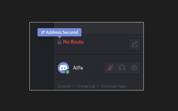 discord no route