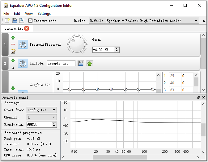 equalizer apo not working