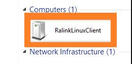 RalinkLinuxClient in Networks Tab