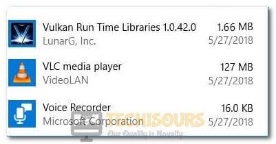 Vulkan Run Time Libraries
