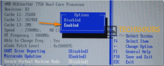 Enable SVM Mode to fix AMD-V is Disabled in the Bios