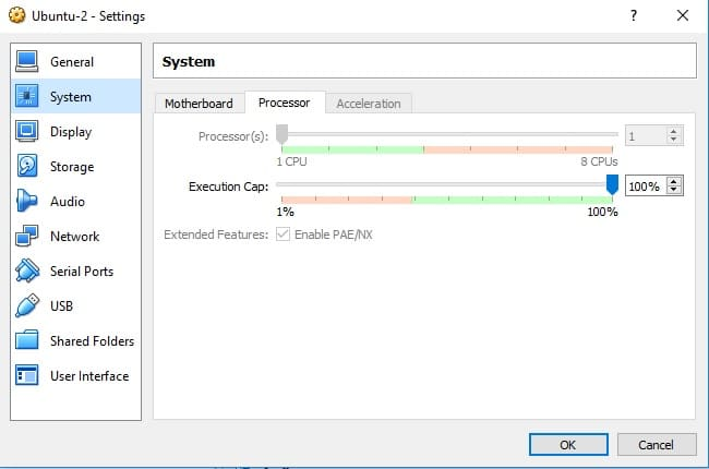 Change processor value to fix AMD-V is Disabled in the Bios error