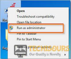 Run HDD Regenerator as admin